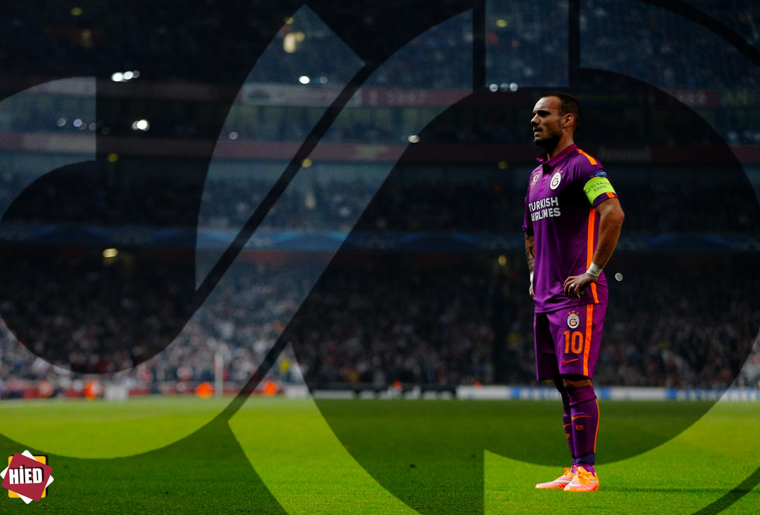 Wesley Sneijder by halilibrahimergul
