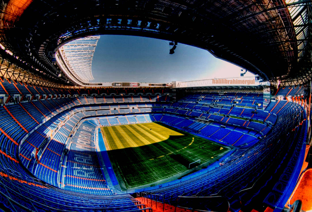 Santiago Bernabeu Wallpaper by halilibrahimergul ...