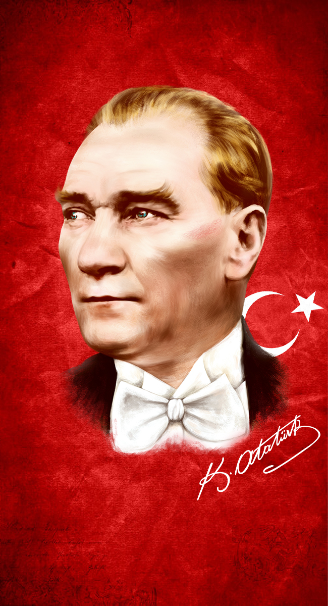 M.Kemal Ataturk by halilibrahimergul