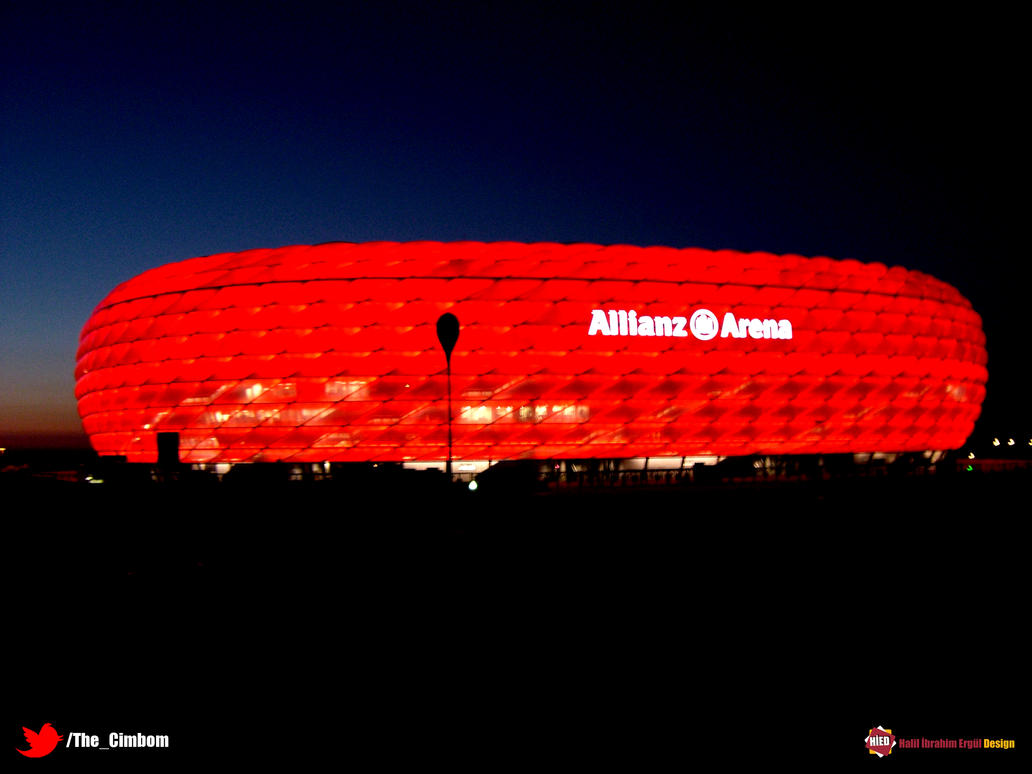 Allianz Arena Wallpaper by halilibrahimergul
