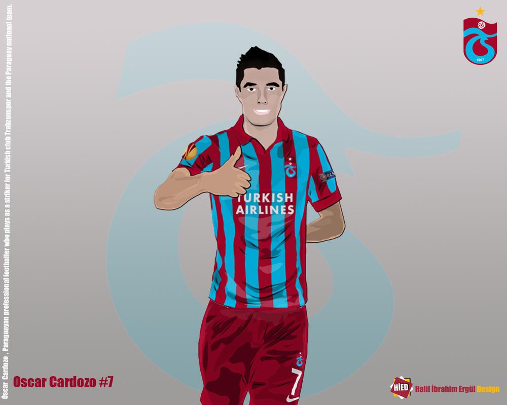 Oscar Cardozo Vector by halilibrahimergul