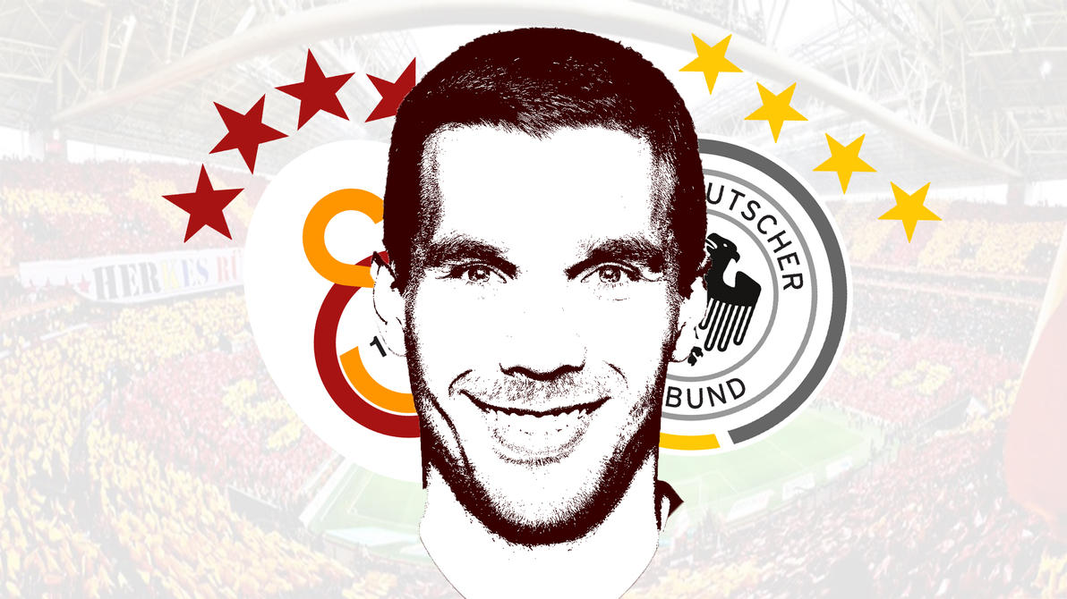 Lukas Podolski Galatasaray by halilibrahimergul
