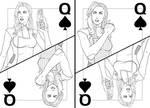 Miranda, the Queen of Spades