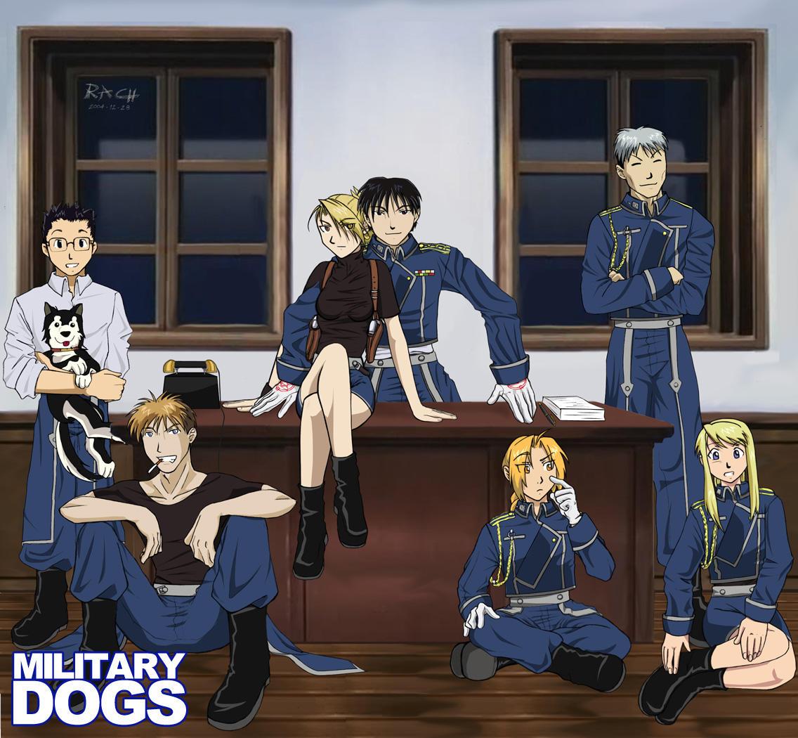 Military Dogs by Asakawa