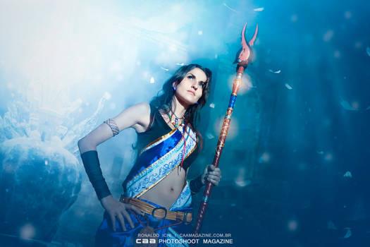 A crystal dream of Valhala
