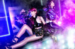 Evelynn and Akali I by RachAsakawa