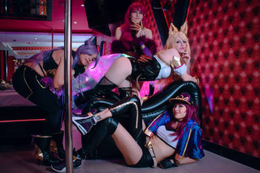 K/DA Cosplay Group I