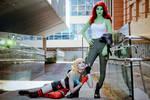 Poison Ivy x Harley Quinn I - Harlivy