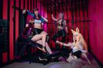 K/DA Cosplay Group IV by RachAsakawa