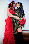 Tifa x Aerith VII - Wall Market Dresses