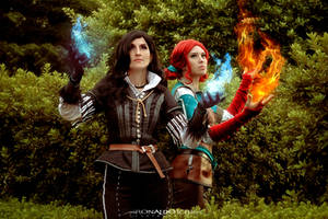 Yennefer and Triss III - The Witcher 3