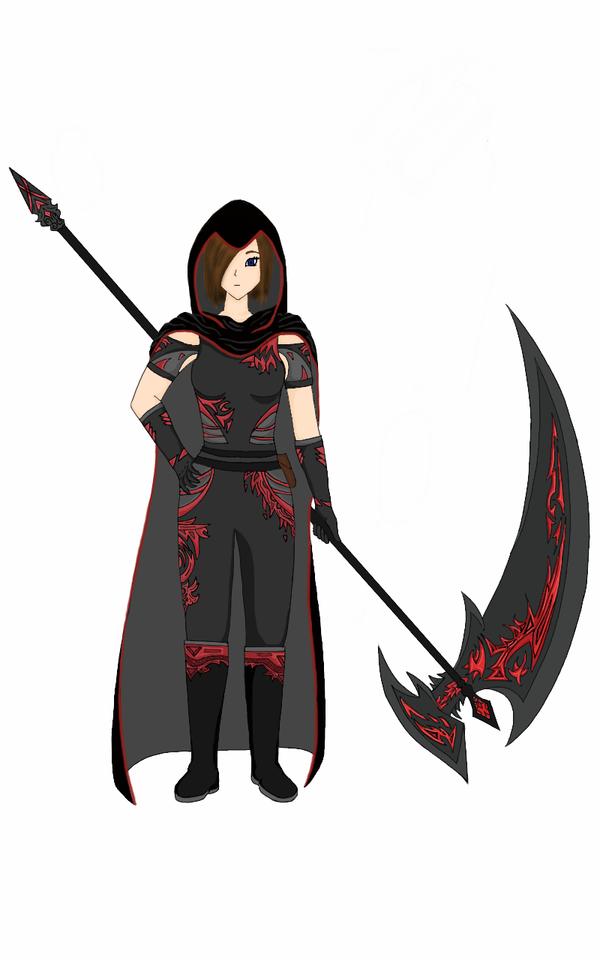 The Scythe User by FantasyArt99