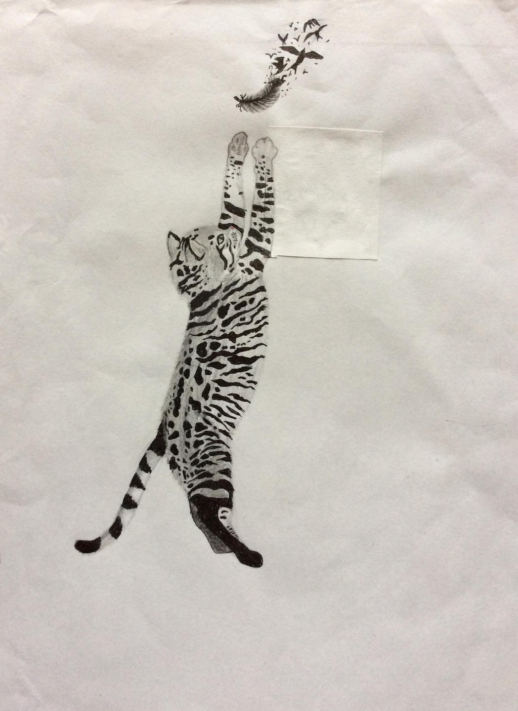Jump Kitty by FantasyArt99