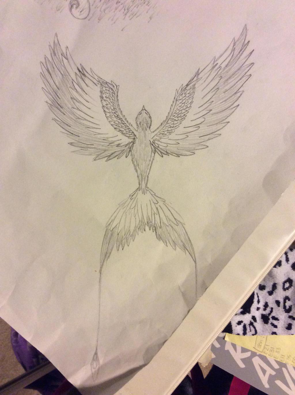 Random bird by FantasyArt99