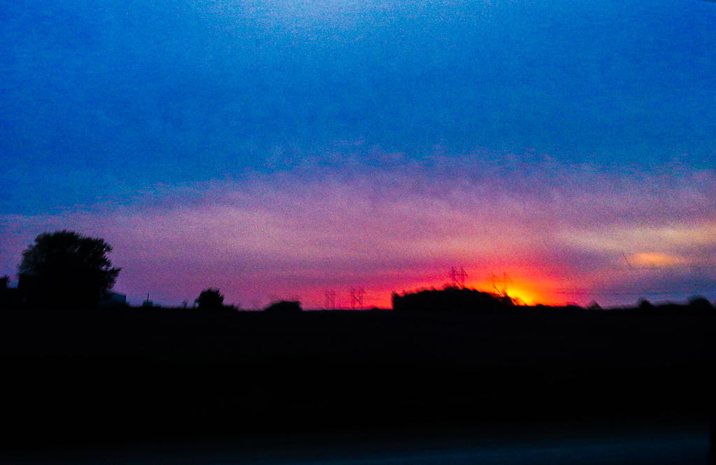 Sunset Explosion by FantasyArt99