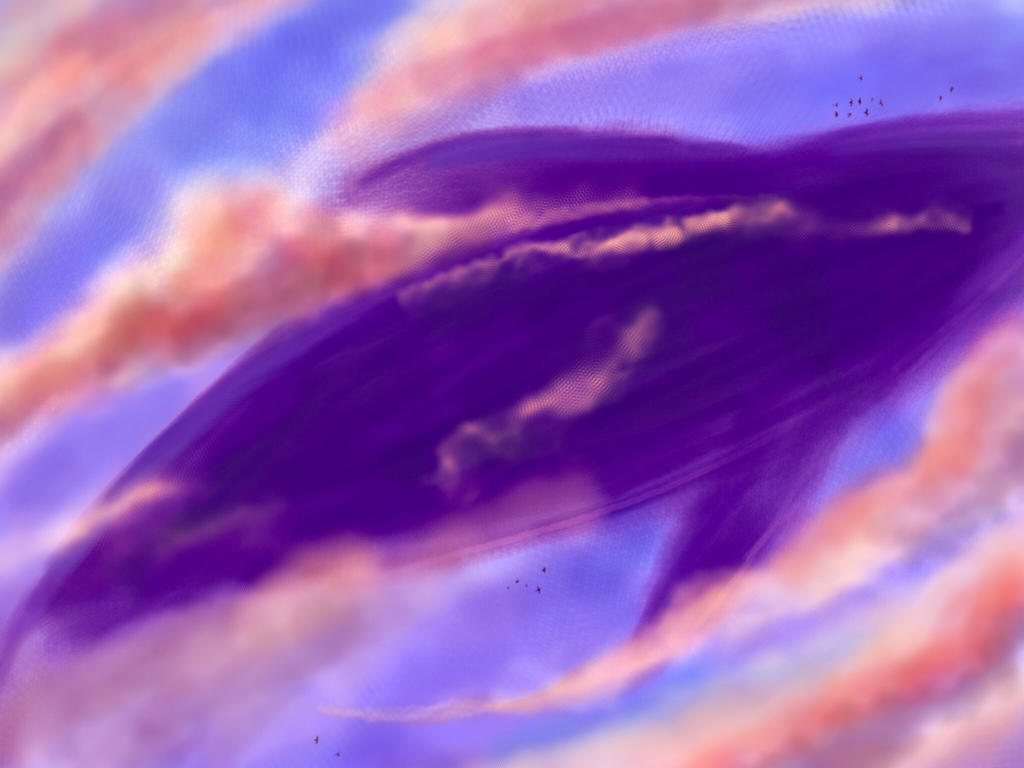 Flying Whale by FantasyArt99