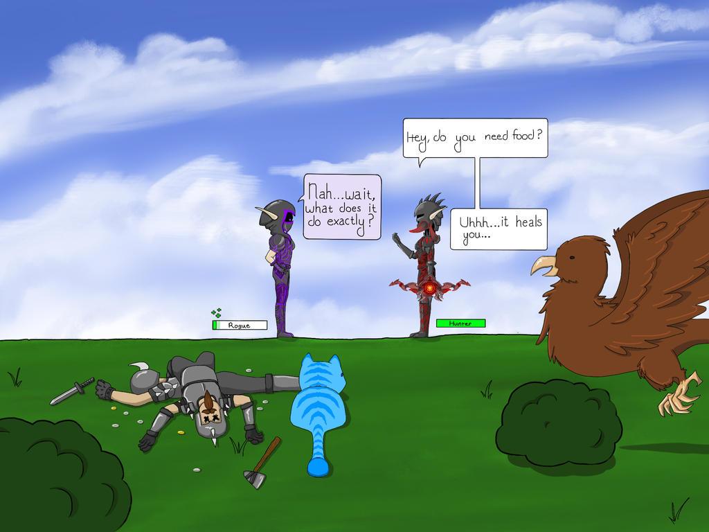 New player perhaps? by FantasyArt99