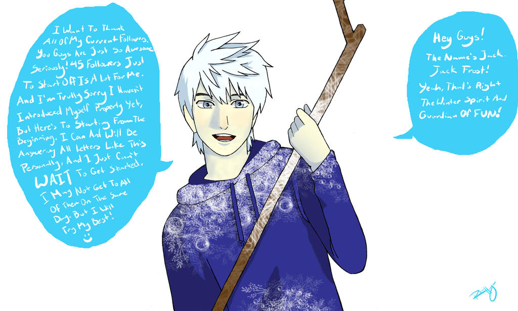 Chat with Jack Frost on Tumblr by HACKproductions on DeviantArt