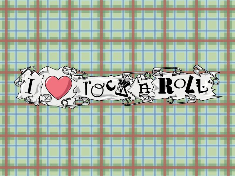Rock 'n Roll Wallpaper by servack ...