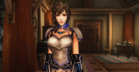 Dynasty Warriors 8 Wang Yi (Head) in Skyrim Pic 6 by user619