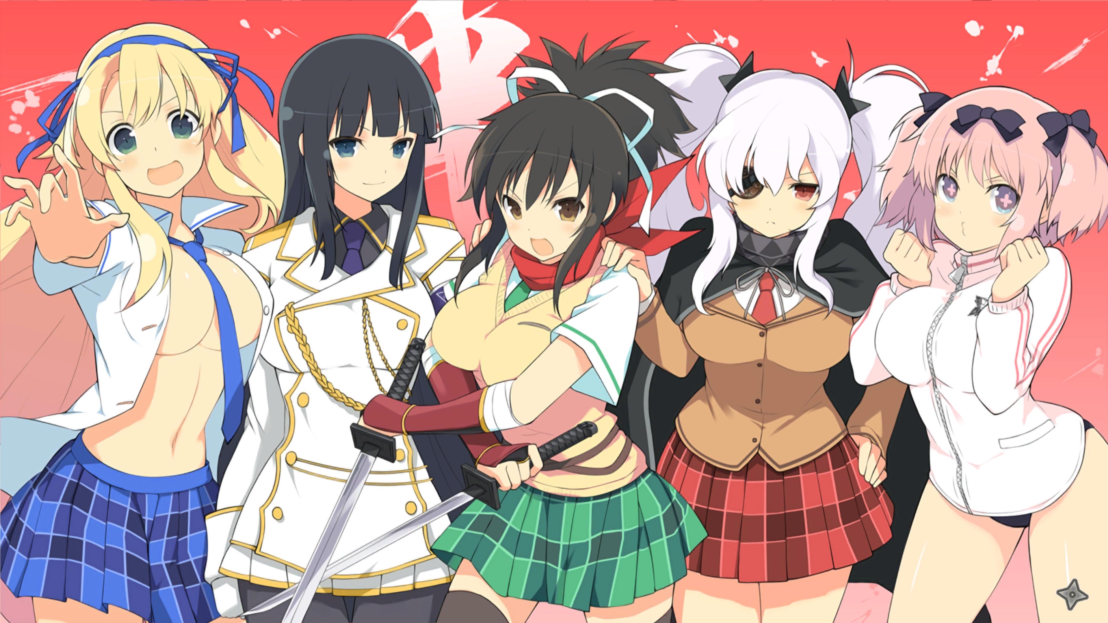 Senran Kagura Shinovi Versus Hanzo Academy 4k By User619 On Deviantart