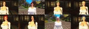 Skyrim Head Mod Pack by user619