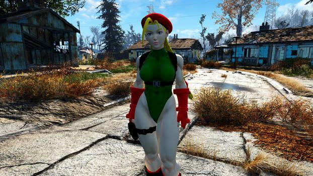 ST5 Cammy Follower and Armor Fallout 4 Mod