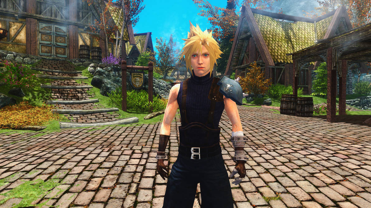 FF Mobius FF7 Cloud Follower and Armor by user619 on DeviantArt