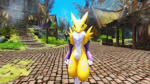 Digimon Links Renamon Follower and Armor
