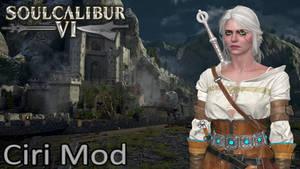 Soulcalibur 6 The Witcher 3 Ciri Mod