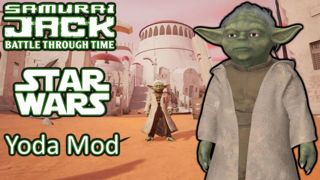 Samurai Jack Battle Through Time StarWars Yoda Mod