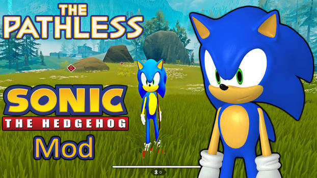 The Pathless Sonic the Hedgehog Mod