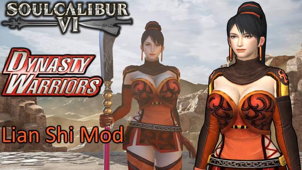 Soulcalibur 6 Dynasty Warriors 7 Lian Shi Mod