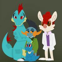 The Fam by KazzMcSass