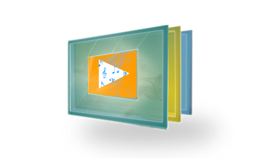 Windows Media Player Logo in MetroUI Style by BHASKARSAINIALUDIYA