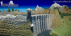 Minehattan Dam by EpicOnline