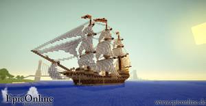 Bengali Tiger - Minecraft Ship