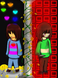 [UT] - Frisk and Chara - Mercy or Fight?