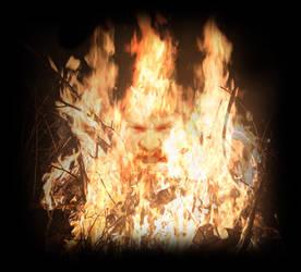 Fire demon by Arinu1