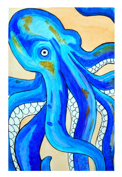Octopus by camie-frenchie