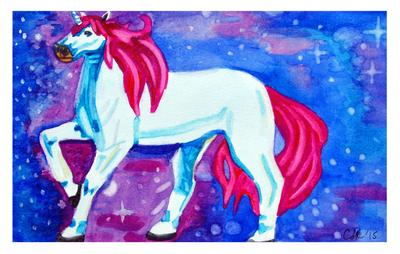 Unicorn by camie-frenchie