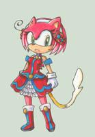 Sonichu RPG Concept - Rosechu by Dj-Mewmew