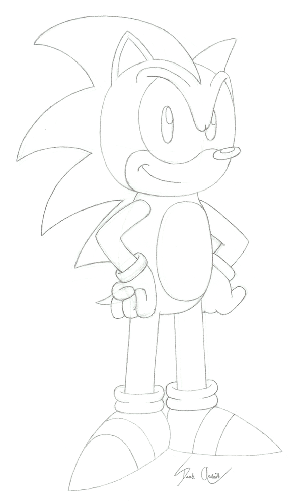 sonic satam coloring pages - photo#16