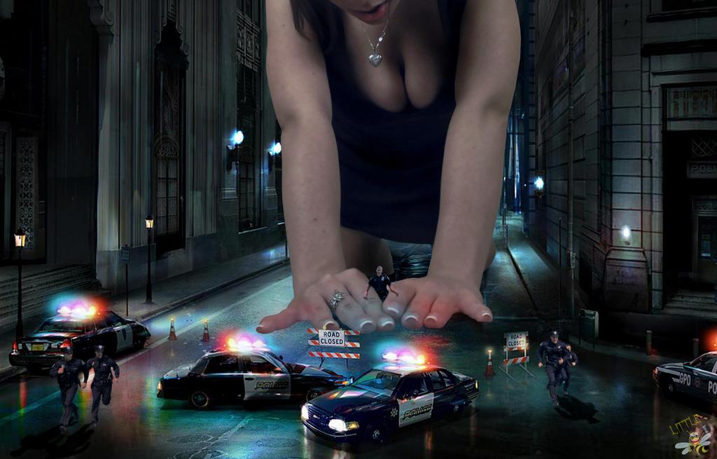 Katelyn Vs Police by LittleBee8705