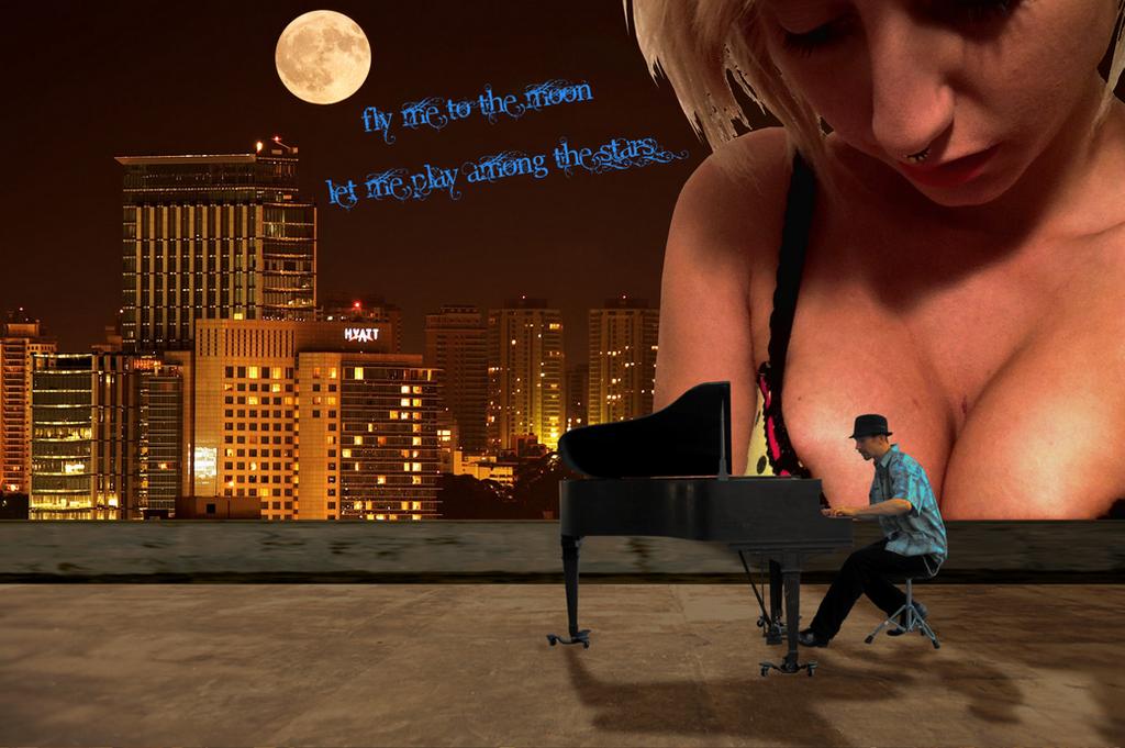 Jazz V (Rooftop Serenade) by LittleBee8705