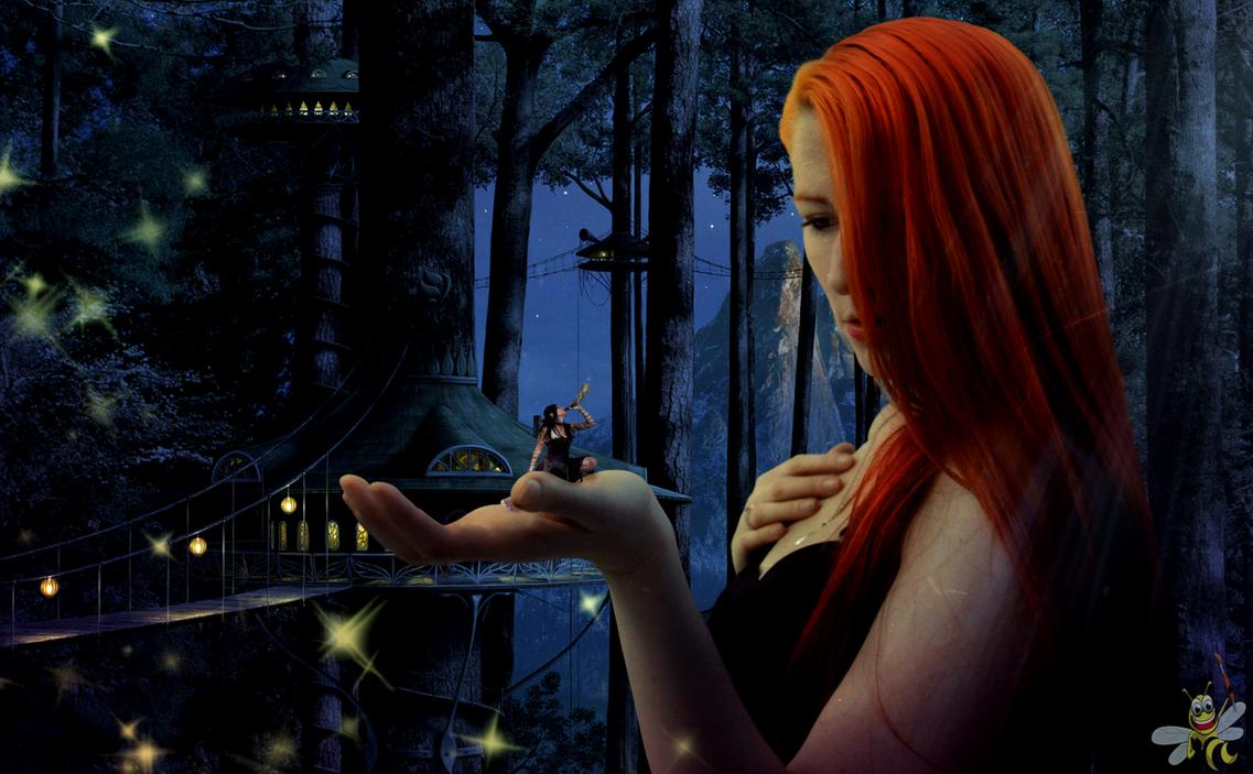 Mystique Forest (Misha Mystique) by LittleBee8705