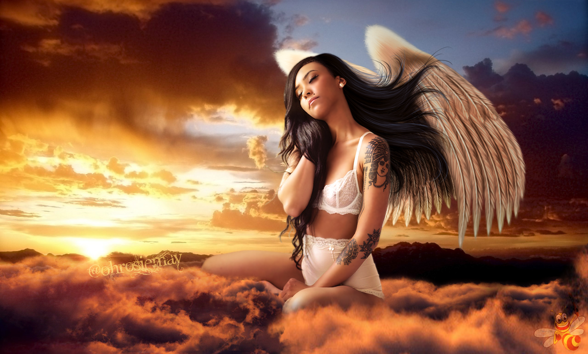 Angel of Mine (Rosie May) by LittleBee8705
