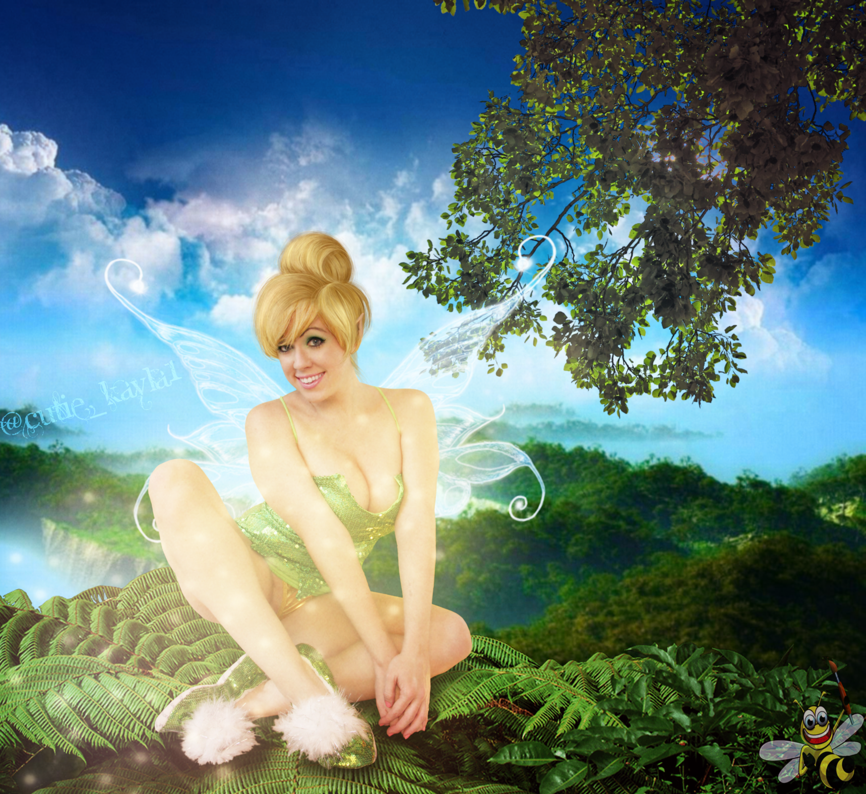 Tinkerbell (Kayla Kiss) by LittleBee8705