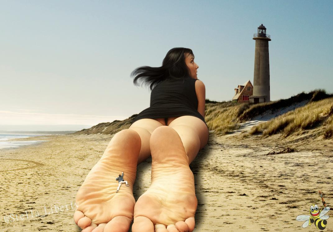 Coastal Visitation (Stella Liberty) by LittleBee8705