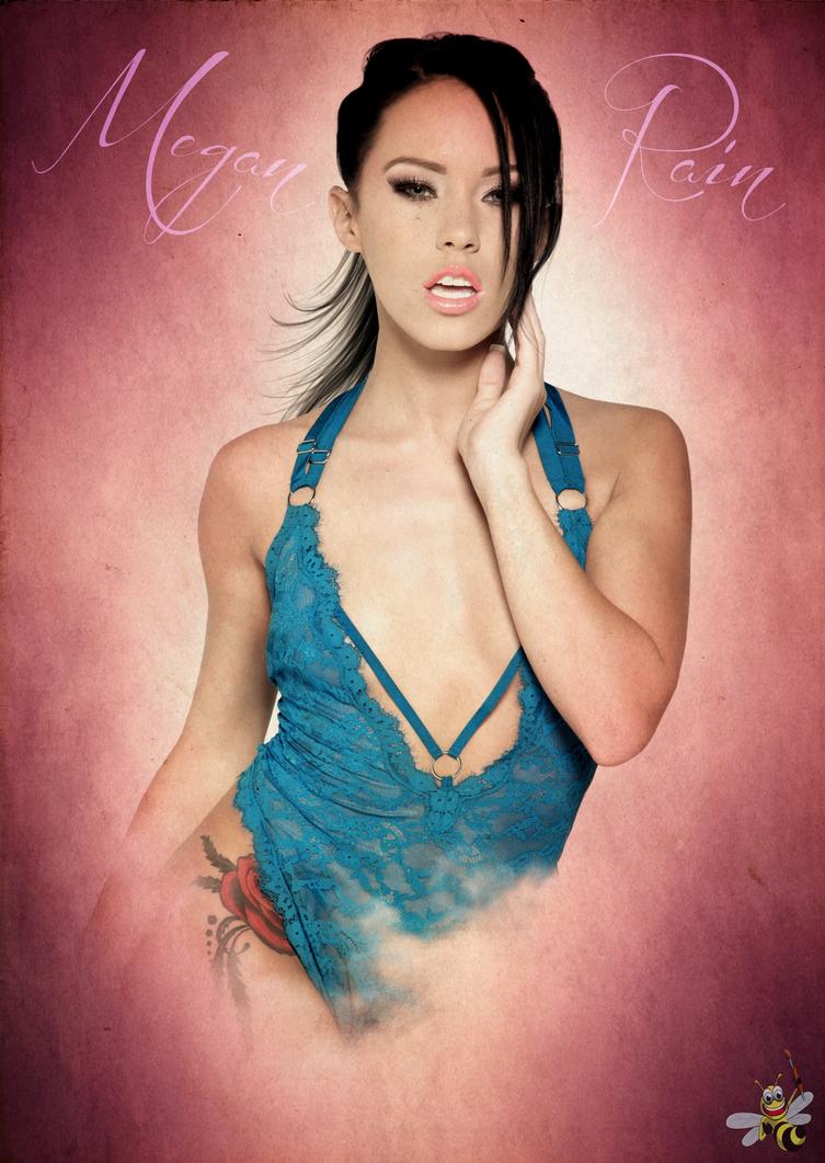 Megan rain poster